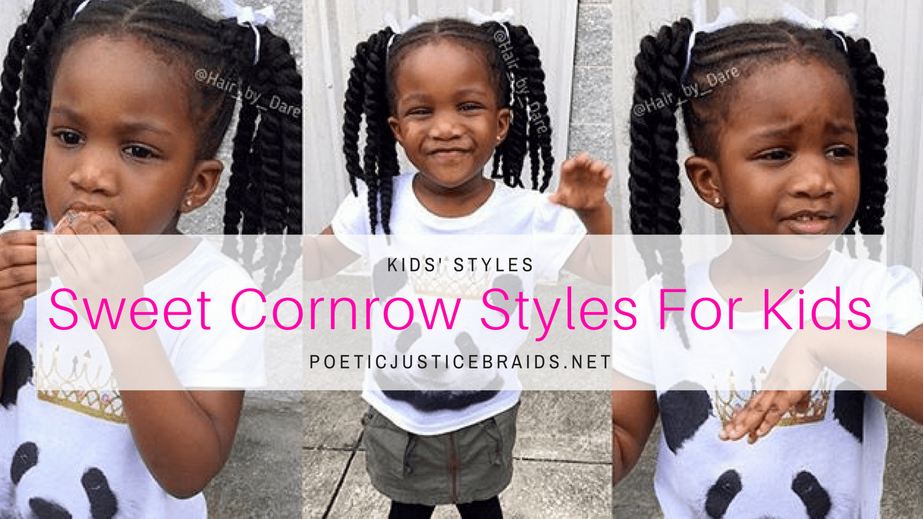 Top cornrow styles for kids almost about every summer i rock a