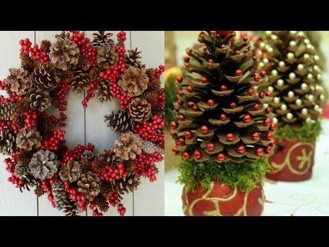 Ideas para decorar en navidad sala bricolaje decoraci n - Youtube centros de mesa navidenos ...
