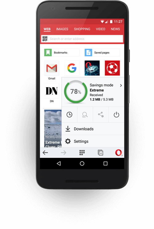 Download Opera Mini For Android Opera Saved Pages Web Browser Ads