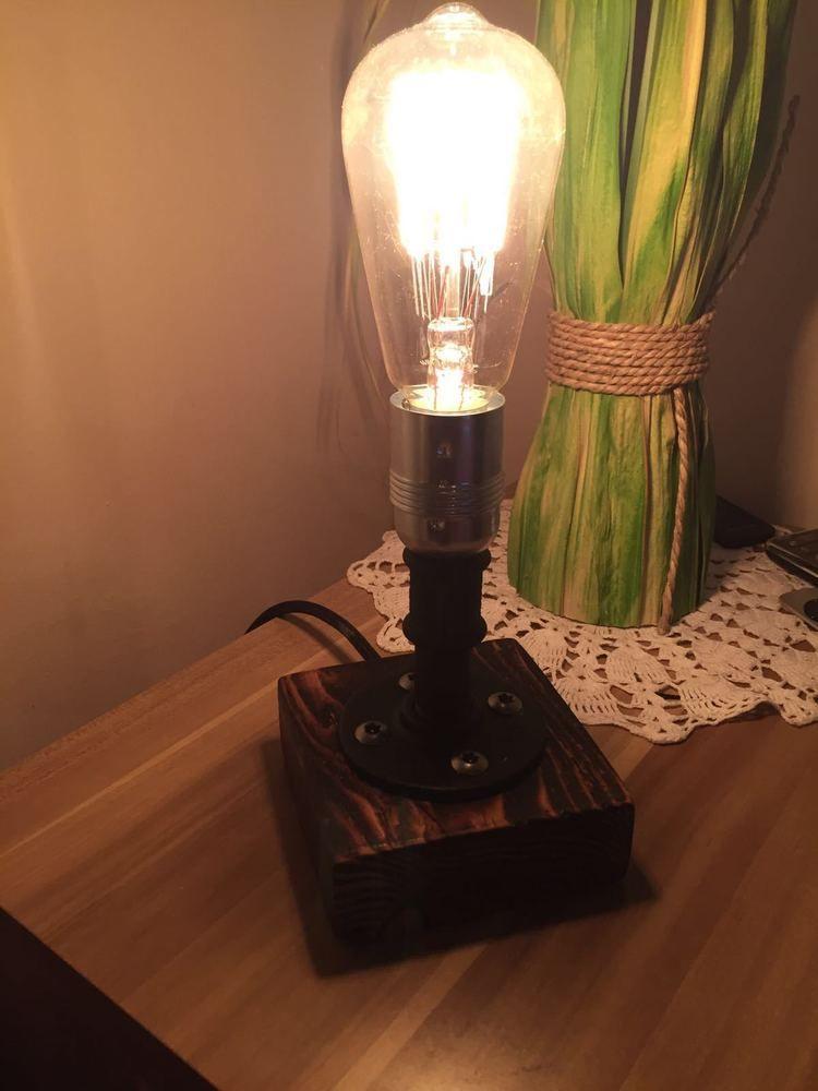 Best EDLE Tischlampe im Industrie Design retro pipe lamp Lampe Edison