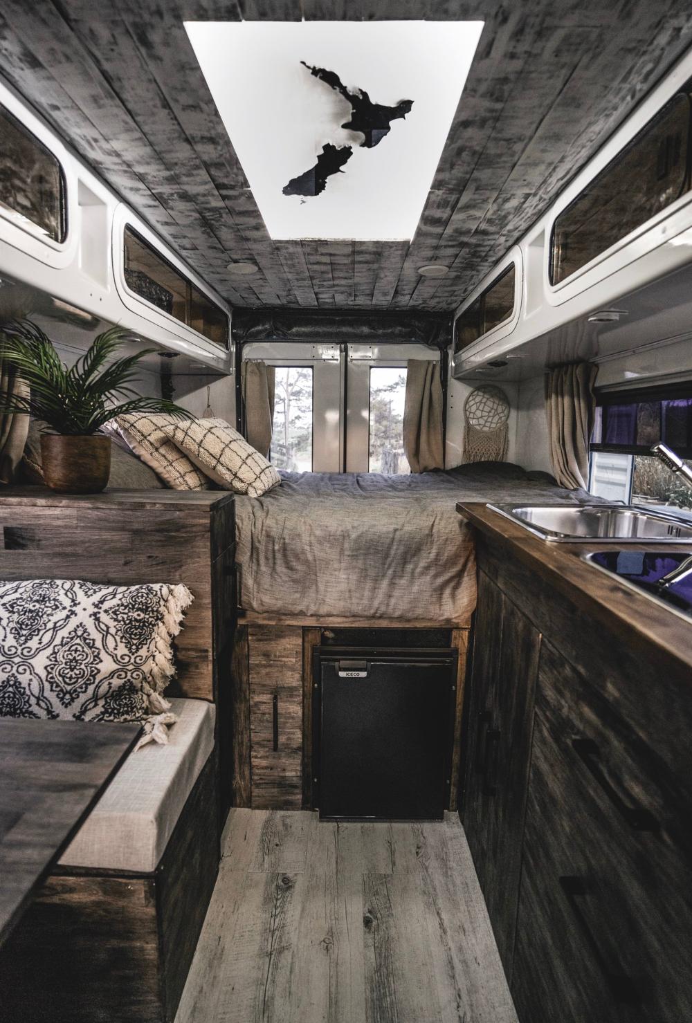 Photo of French couple convert Kiwi ambulance into hotel on wheels for $30k | Stuff.co.nz…