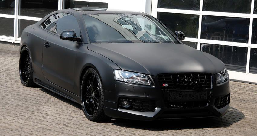 Audi S5 Anderson Germany Matt Schwarz Edition