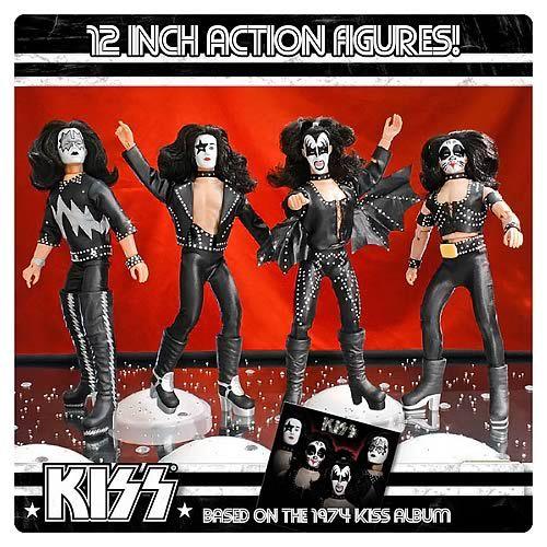 Kiss 1st Album Series 2 12 Inch Action Figures Set Kiss