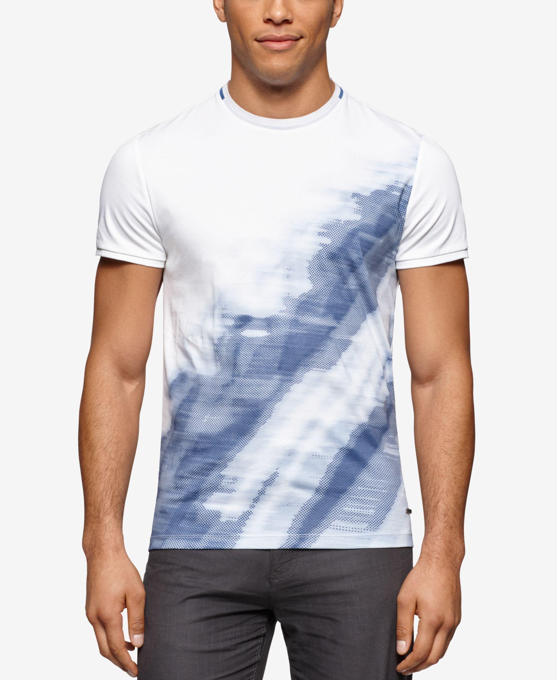 Calvin Klein Men s Graphic-Print T-Shirt   Men   Shirts, T shirt ... 9f5797823bb6