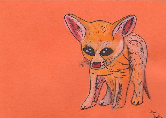 Fredrick the Fennec Fox by QuipStudios on Etsy, $5.00