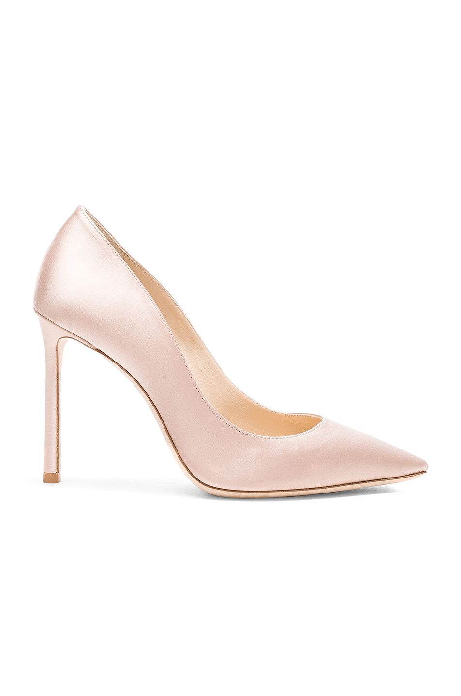 44456b6614f JIMMY CHOO Satin Romy Heels.  jimmychoo  shoes