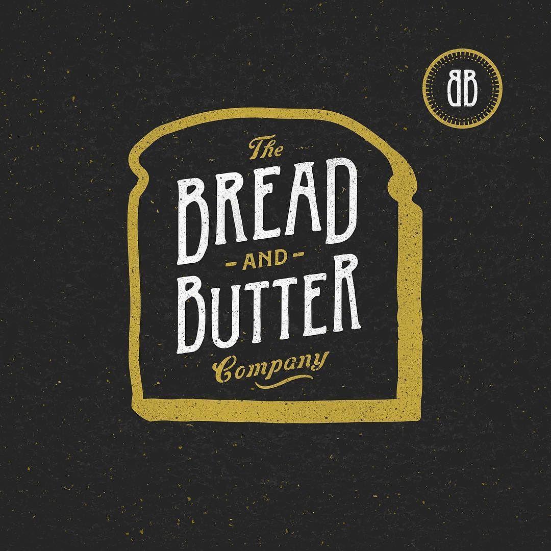 Logo / The Bread and Butter Company …(이미지 포함) 타이포그래피 로고