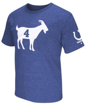 c494d9bd G-iii Sports Men's Adam Vinatieri Indianapolis Colts Goat T-Shirt - Blue L