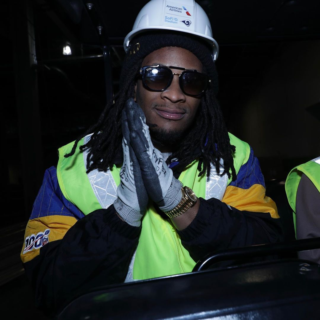 6 706 Likes 57 Comments Todd Gurley Tg4hunnid On Instagram New Stadium Tour With Some Amazing Fans Tommyboyfreez In 2020 Todd Gurley Stadium Tour Fashion