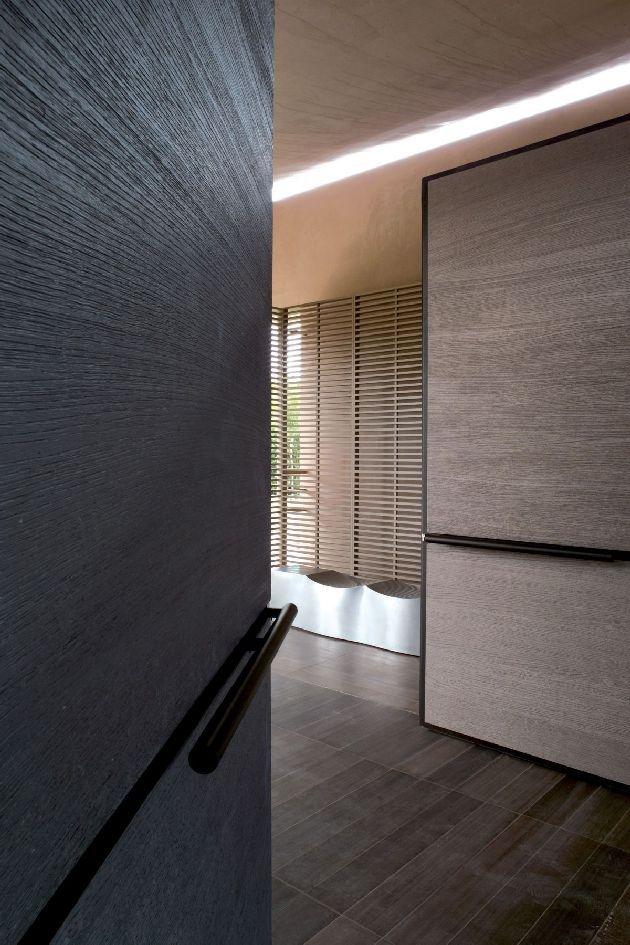 Beautiful door -  Hotel La Reserve Ramatuelle France by Jean Michel Wilmotte