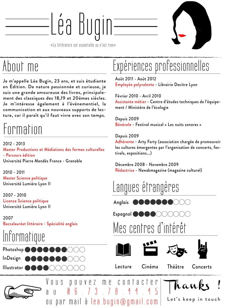 Business Infographic Curriculumvitae Cv Realise Par Mes Petites Mains Si Vous Souhaitez Que Je Infographicnow Com Your Number One Source For Daily I Graphic Design Cv Creative Cvs Resume Design