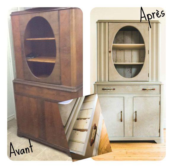meuble en bois relooker un meuble Pinterest