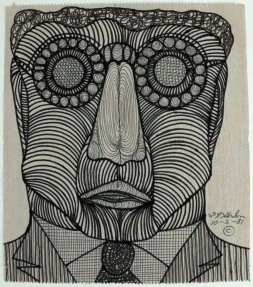 Ted Gordon | Art brut, Art plastique, Art