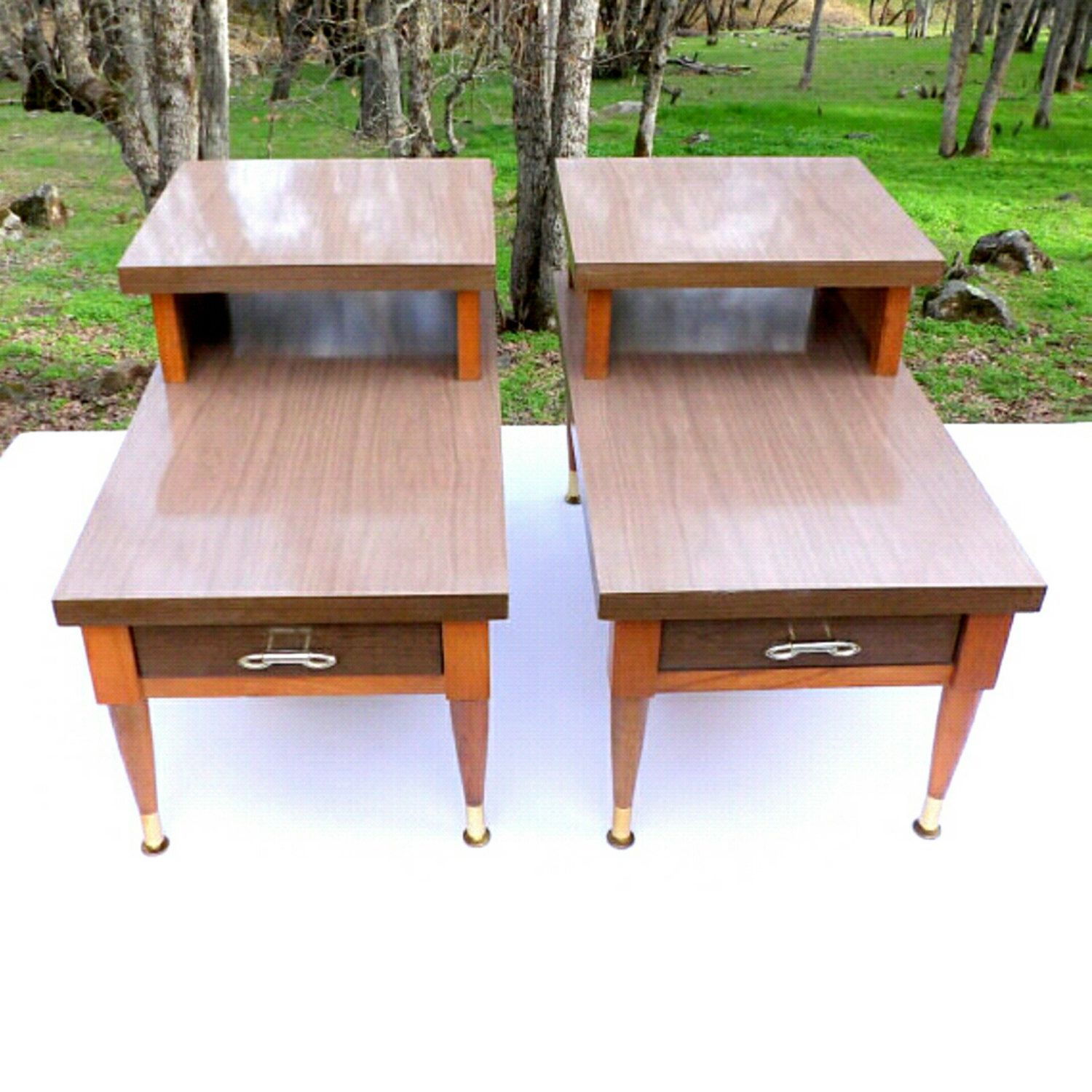 Best Night Stands Nightstands Pair End Tables Mid Century 400 x 300