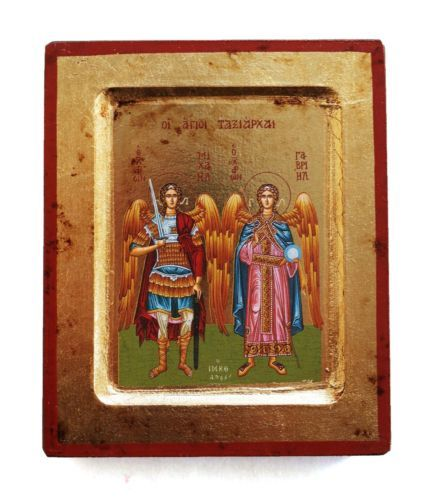 Greek-Russian-Orthodox-Lithography-Icon-Archangels-Michael-and-Gabriel-12-5x10cm