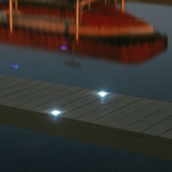 solar dock lights solar dock dots on the water pinterest ps. Black Bedroom Furniture Sets. Home Design Ideas