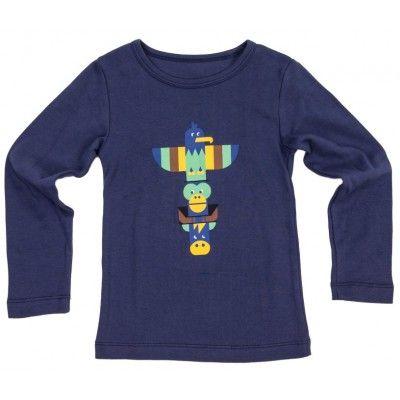 t-shirt Henri Totem blauw
