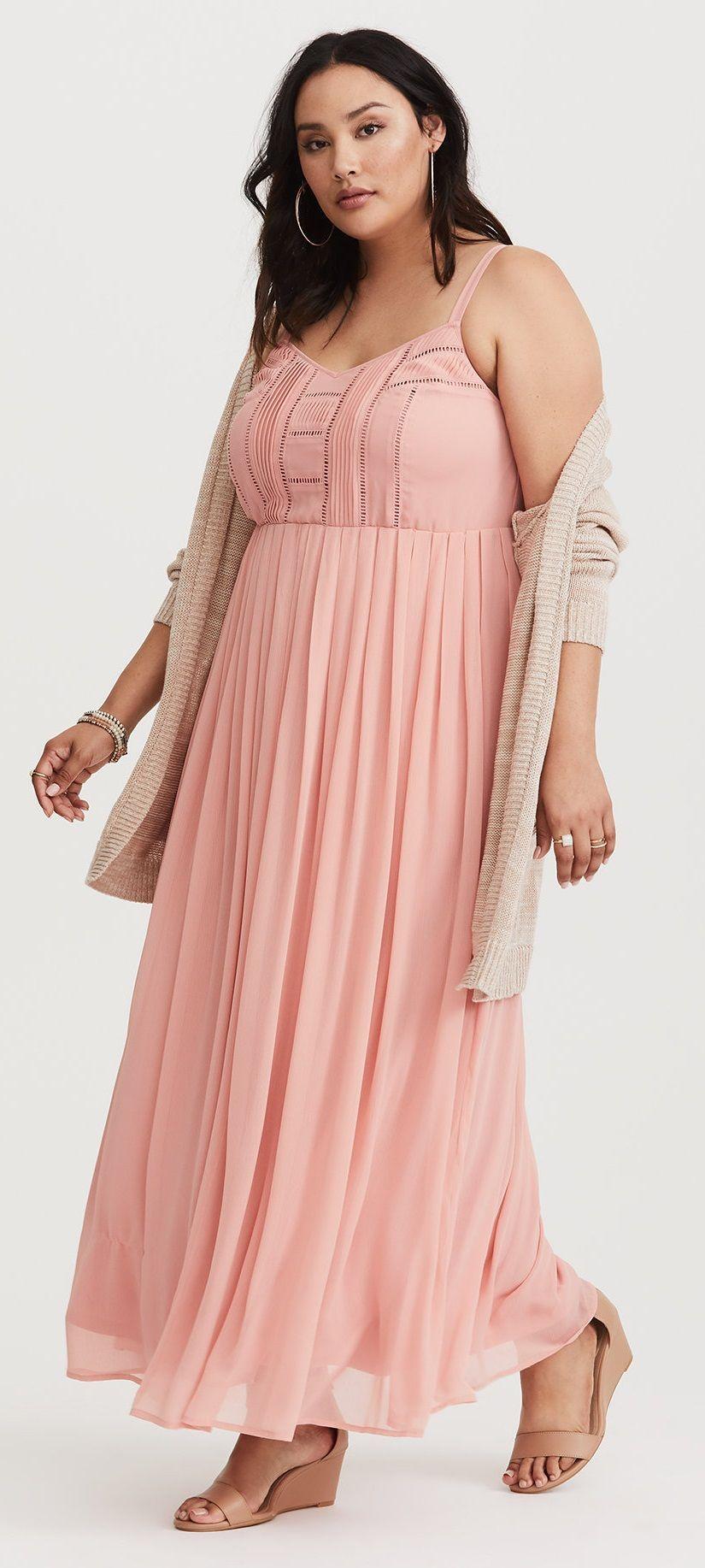 094b2fd20310 Plus Size Chiffon Maxi Dress | Plus Size Fashion | Dresses, Chiffon ...