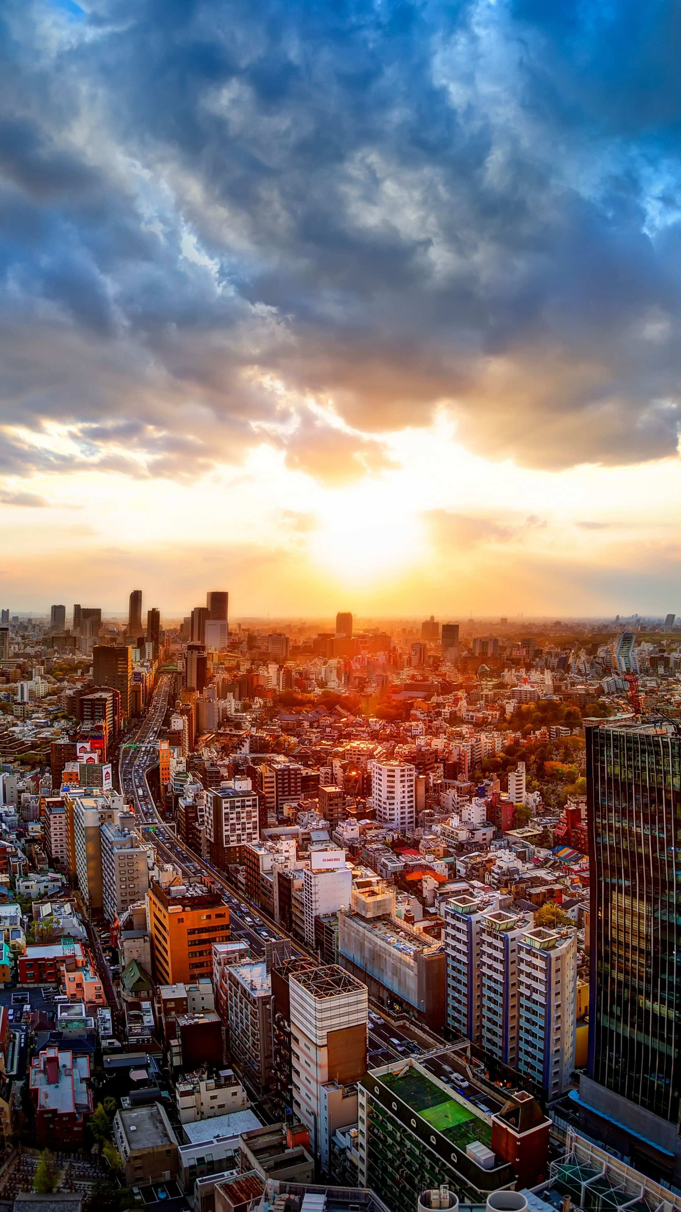 Sunrise In Tokyo Wallpaper Iphone Wallpaper Tokyo Tokyo City Sunrise Wallpaper