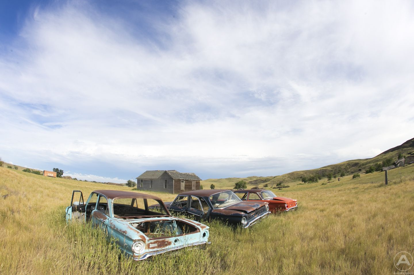 Abandoned Cars Vehicles Urban Architecture Leave Behind South Dakota Ghost