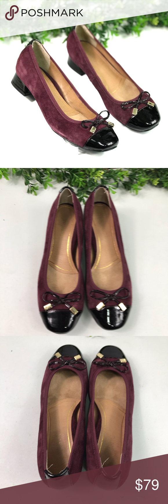 Vionic Maroon Suede Kitten Heel Bow Pumps Size 6m Vionic Women S Maroon Suede Kitten Heel Bow Pumps Size 6m Eu 37 E Trendy Heels Bow Pumps Heel Sandals Outfit