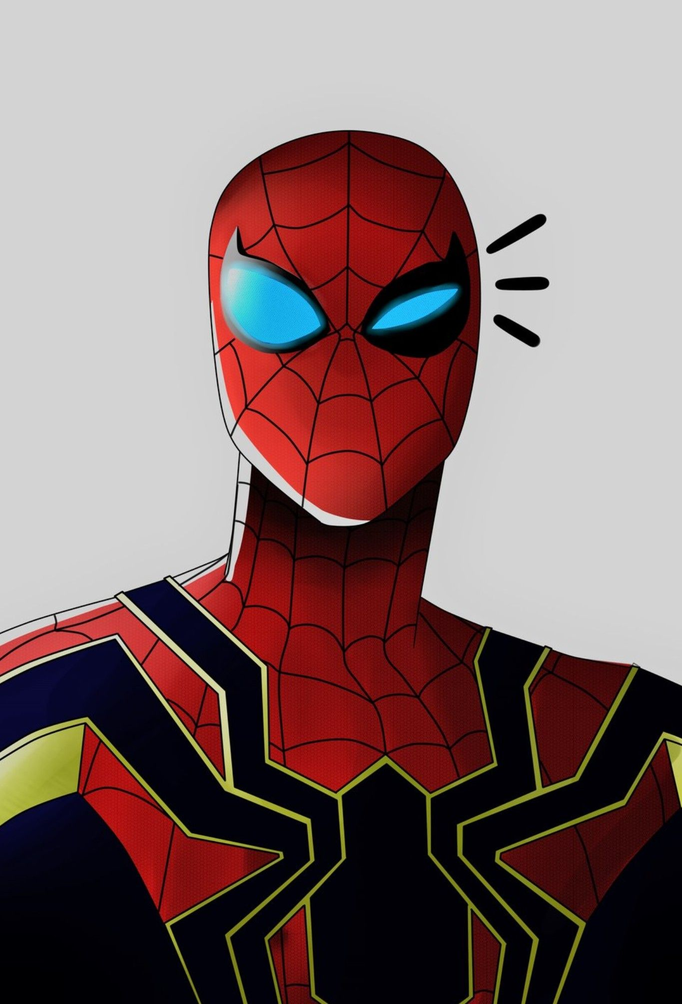 Iron Spider Man Amazing Spiderman Spiderman Art Spiderman Comic