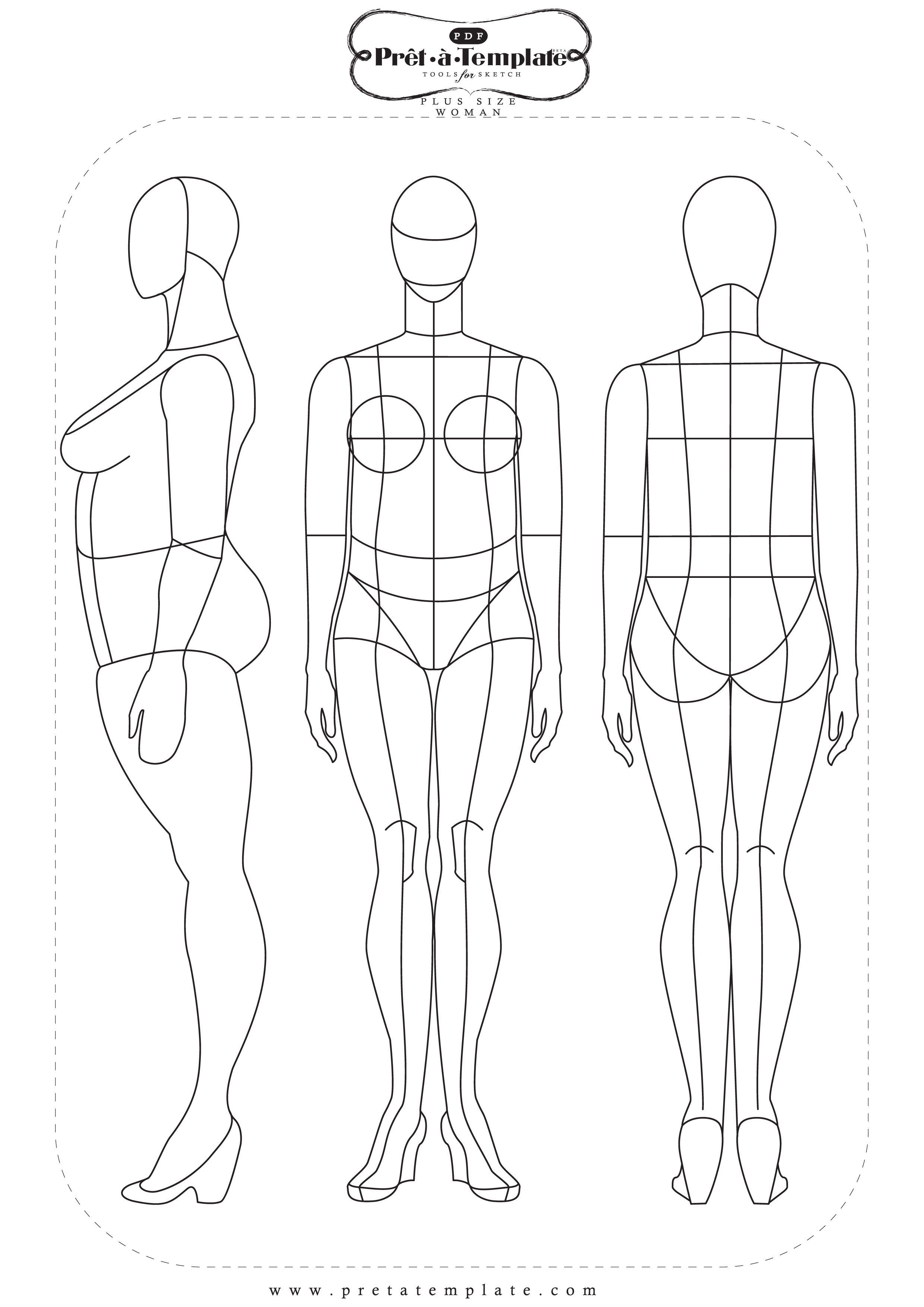 Pin von Sew Inspired auf Fashion Illustration Course | Pinterest ...
