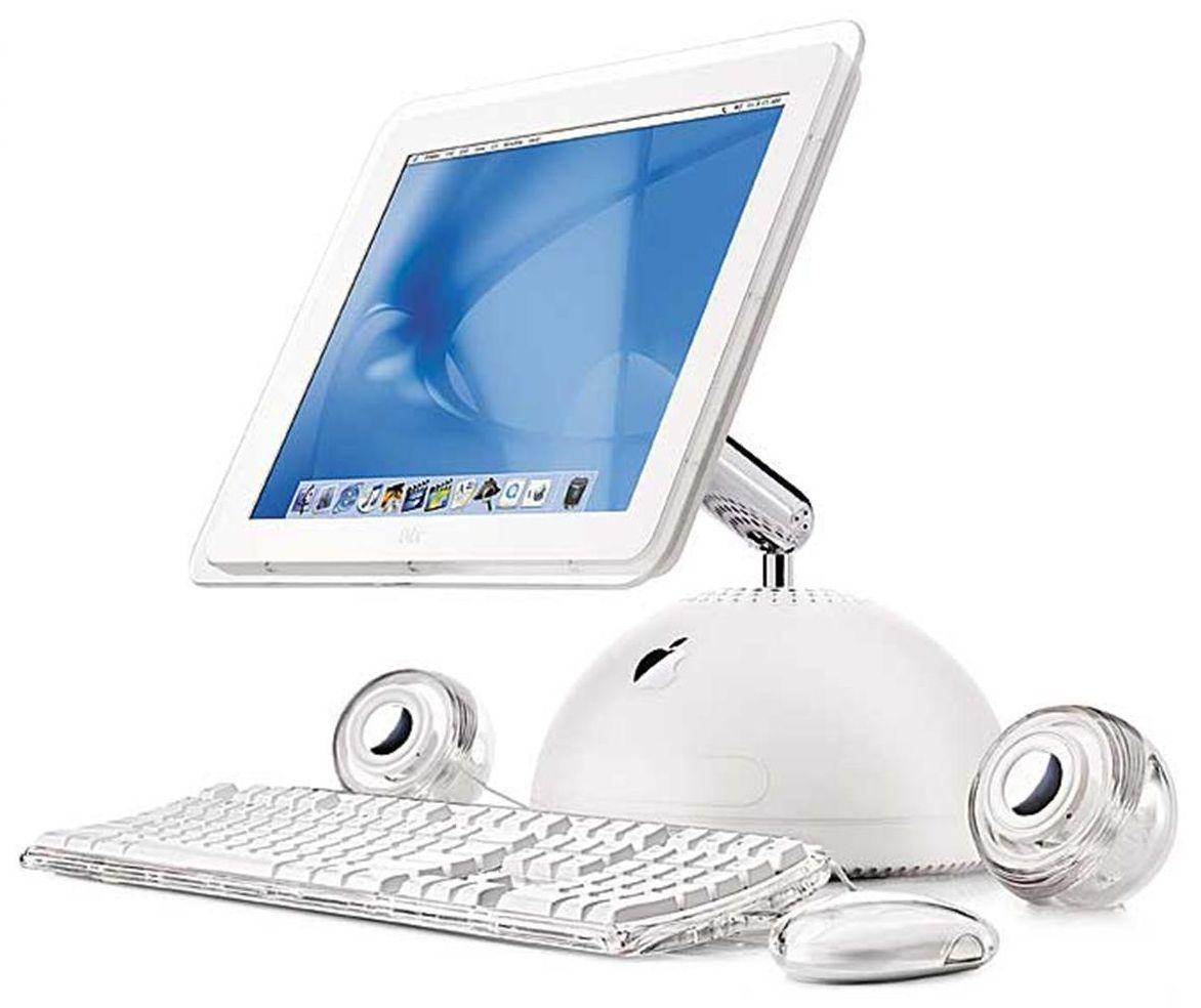 """iMac G4 """"Sunflower"""" 2002"""