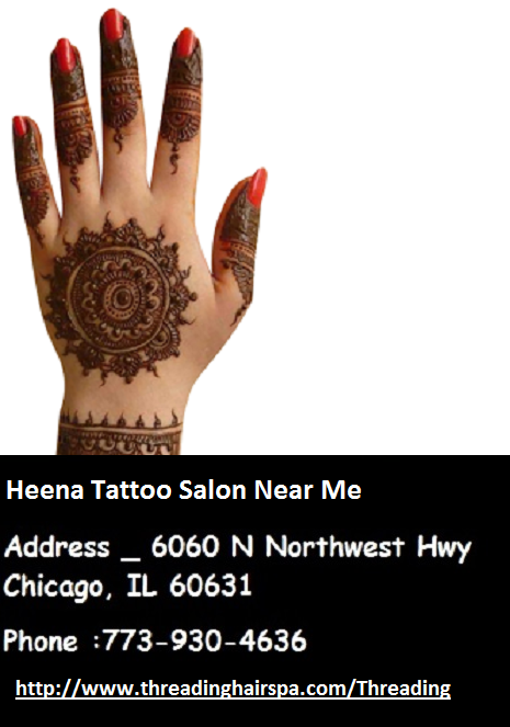 Henna Tattoo Salon near me There is little risk with a