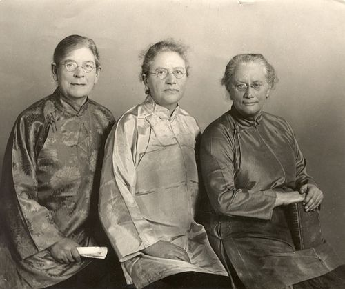 Three women who explored the Gobi desert: Mildred Cabel, Francesca and Eva French in the 1920s.