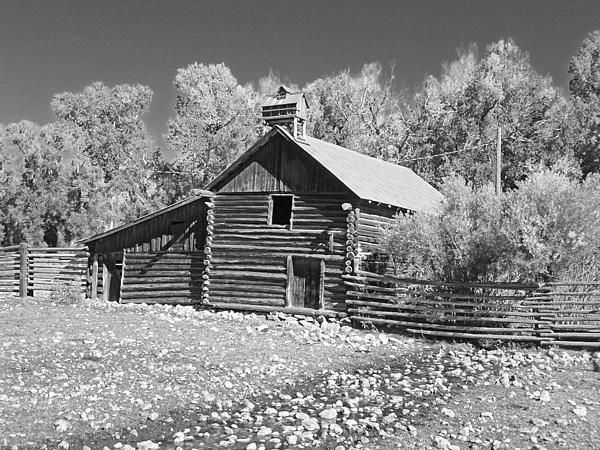 """Photograph, """"The Old Barn,"""" by Lenore Senior and Dawn Senior-Trask, Fine Art America."""