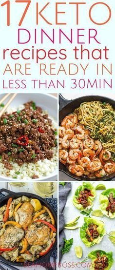 17 Keto Dinners Made in 30 Minutes or Less images