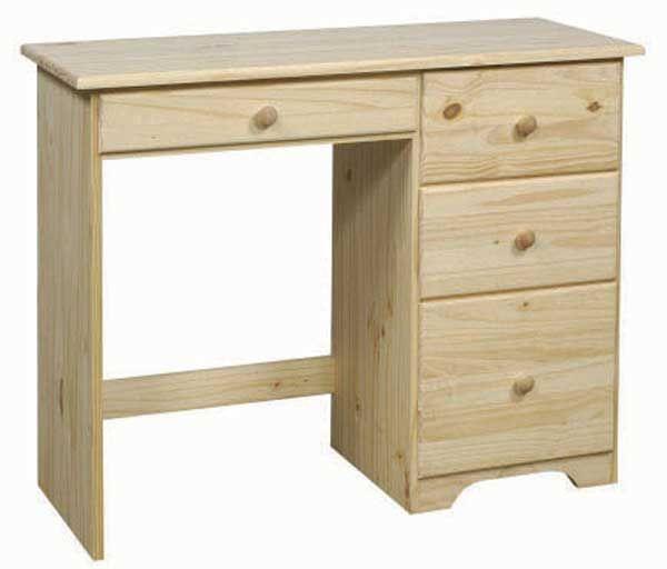 Unpainted Desks Unfinished Furniture Desk For Any Home Office