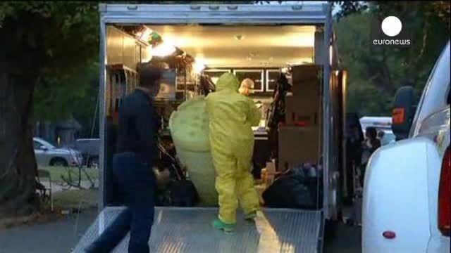 Desinfectan vivienda de la enfermera con ébola, primer contagio en EEUU