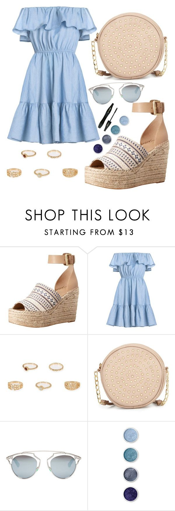 """Untitled #62"" by foreveritaly ❤ liked on Polyvore featuring Marc Fisher LTD, River Island, Neiman Marcus, Christian Dior, Terre Mère and Lancôme"