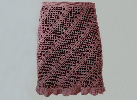 Modern Crochet Skirt Pattern Sizes Xs Xl Crochet Tutorial In