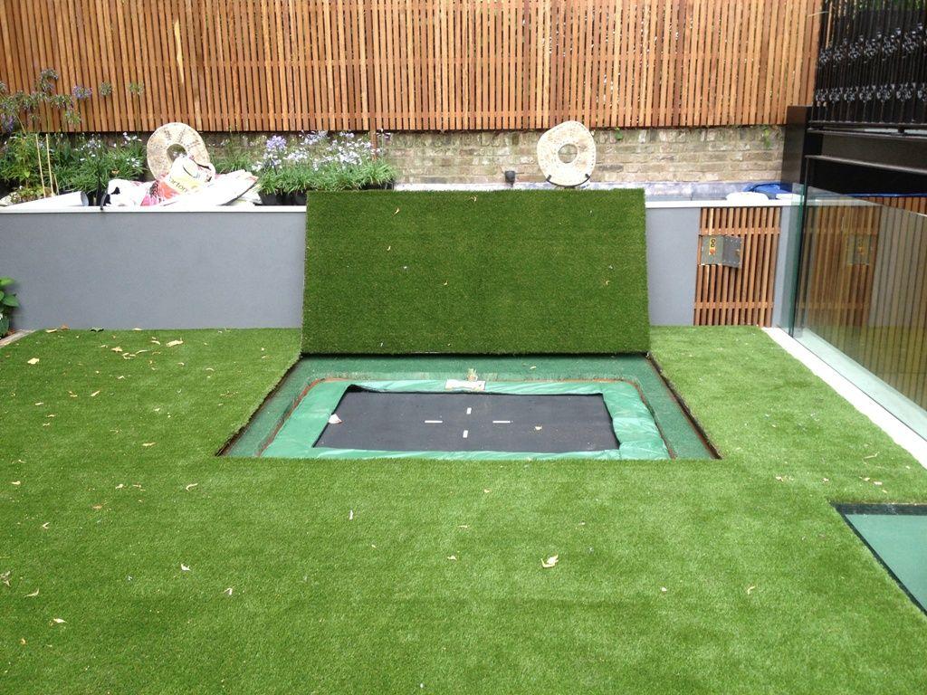 Garden Design With Trampoline sunken trampoline lid | tuin | pinterest | sunken trampoline