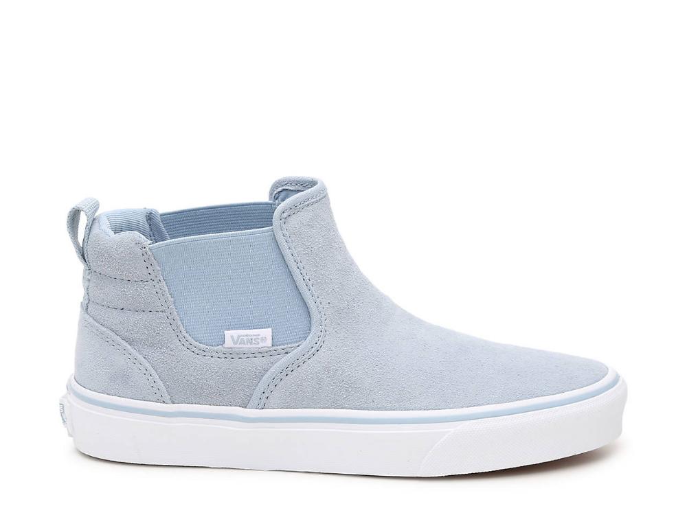 Vans Asher Mid-Top Slip-On Sneaker