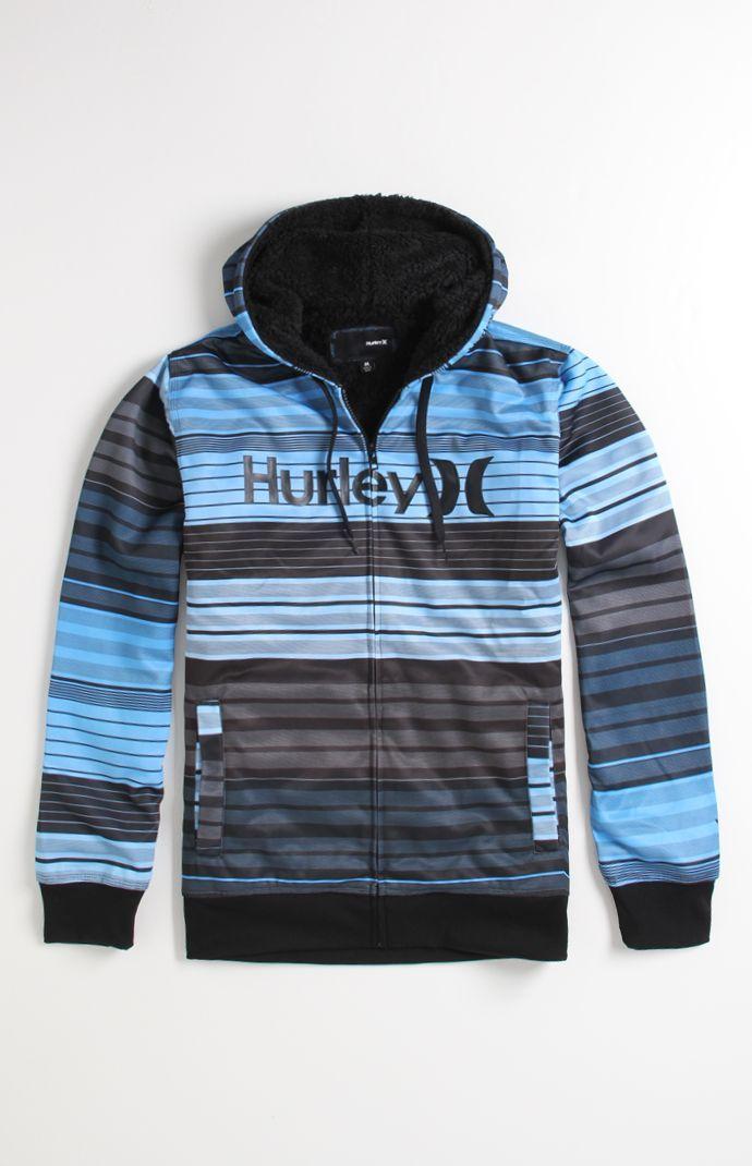 c52ebd318659 (Limited Supply) Click Image Above: Mens Hurley Hoodie - Hurley Texture Zip  Hoodie