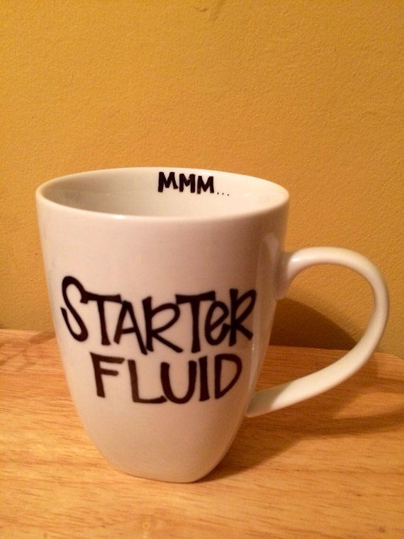 DIY Sharpie Mug. Great Idea For The Person Who Needs A Little Morning Pick