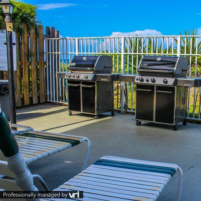 Nothing beats grilling on the beach! Berkshire Beach Club - Deerfield Beach, FL #VRIvacations #amazing  #condo #vacation #rentals #beach
