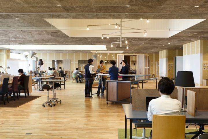 KOIL workplace by Naruse Inokuma Architects, Kashiwa shi