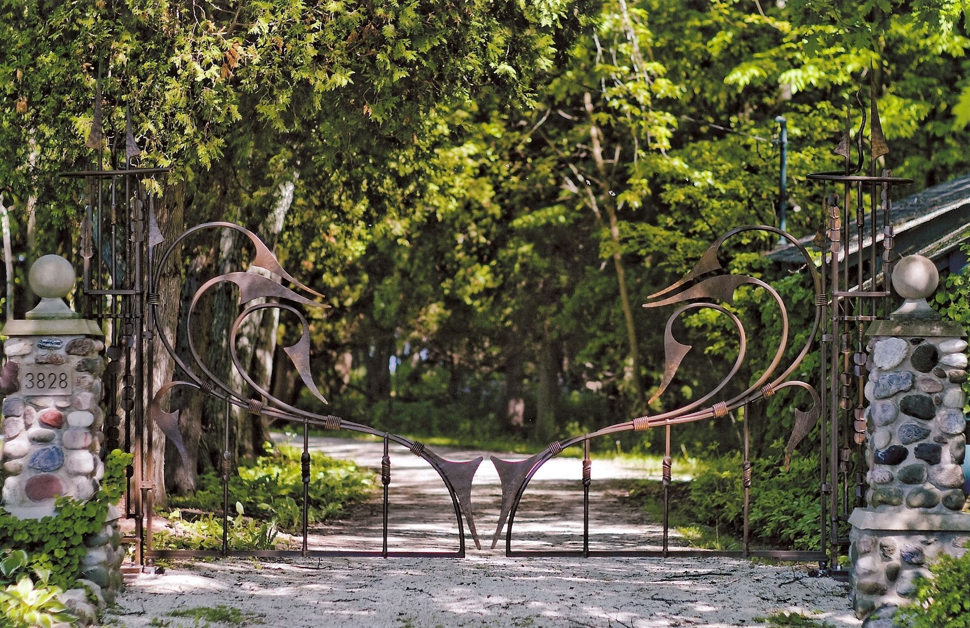 Driveway Gates, Garden and Pool Gates | gates | Pinterest | Gate ...