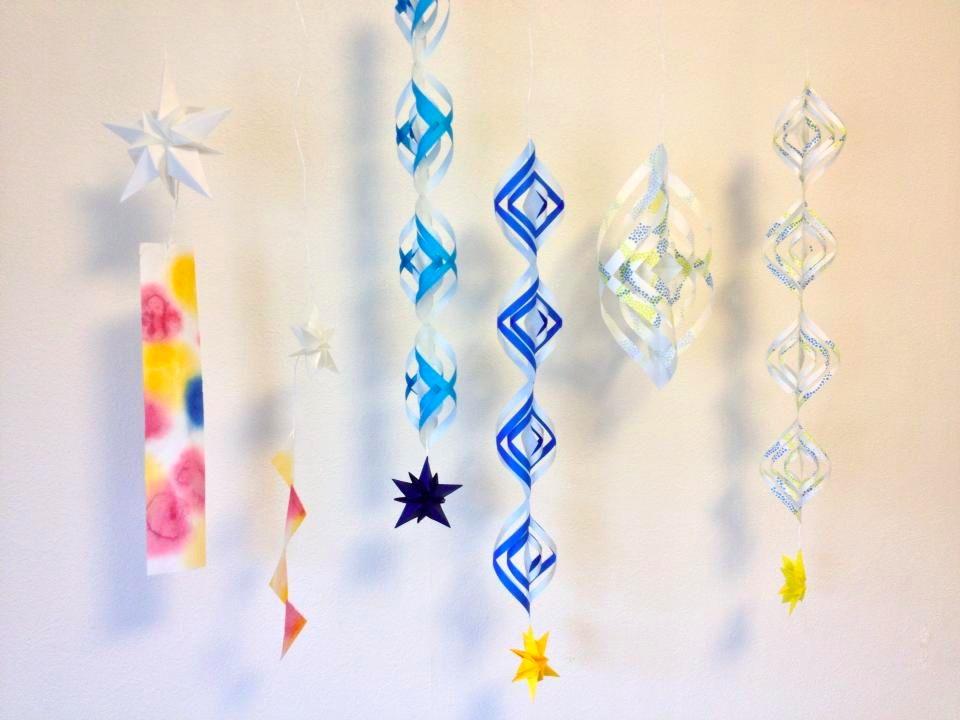 飾り 七夕 七夕飾り工作・製作!折り紙やマステで星・短冊・天の川を簡単手作り [工作・自由研究]