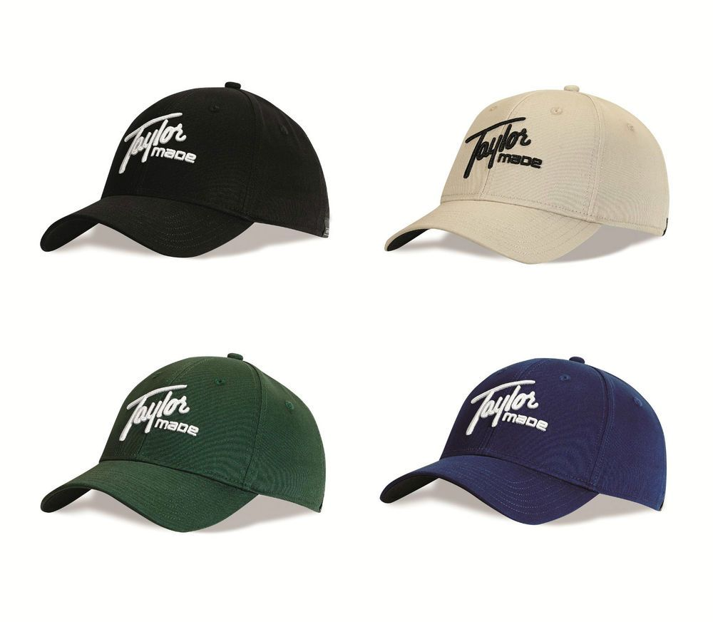 016fe920f68 New for 2015 - TaylorMade Golf TM 1979 Adjustable Golf Cap Hat ...