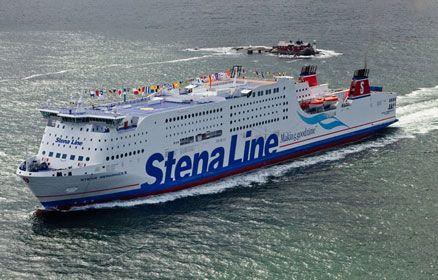 Stena Scandinavica - Seiler mellom Gøteborg - Kiel - Stena Line.
