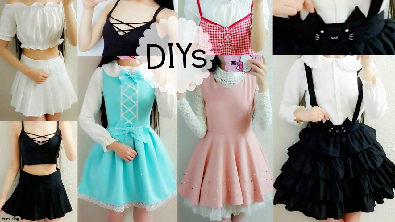 5 Cute DIY Clothes: Cat Suspender Skirt,ladylike/DollLike Dress ...