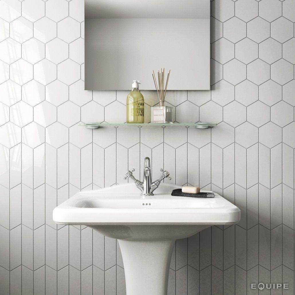 Equipe Ceramicas   Chevron Wall   Interior kitchen   Pinterest ...