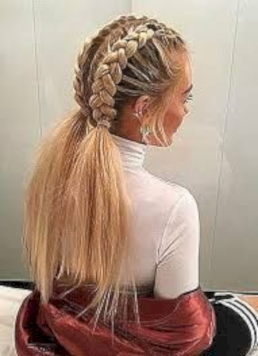 Pin By Sierra Lae On Hairs Hair Styles Braided Hairstyles Easy Braided Hairstyles
