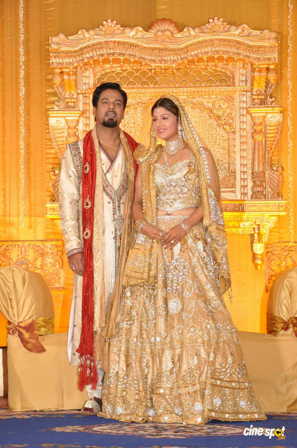 South indian groom reception dress wedding dress collections for Most expensive wedding dress in india